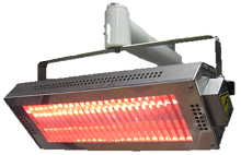 sop'zone Sopara - shortwave Infrared heater inside